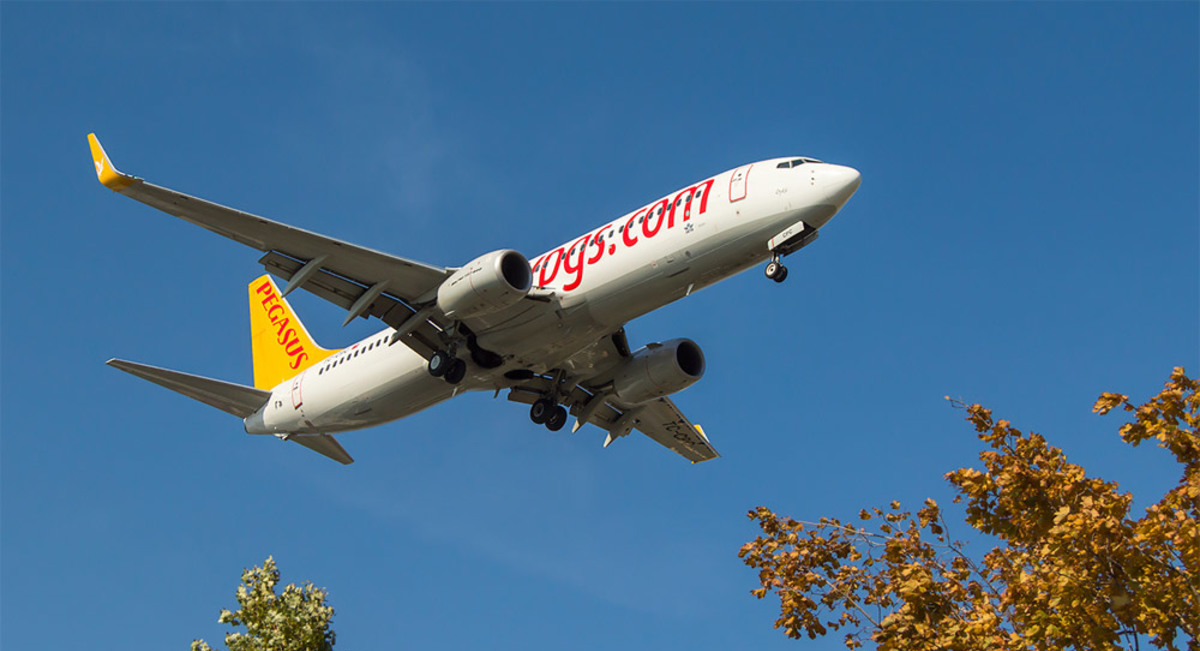 Лоукостер Pegasus Airlines полетит из Стамбула в Херсон