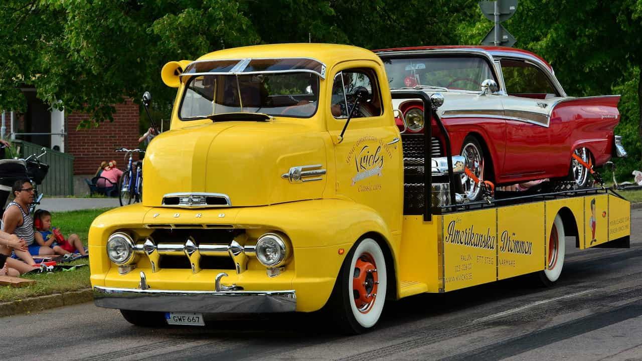 1952 Ford COE Truck